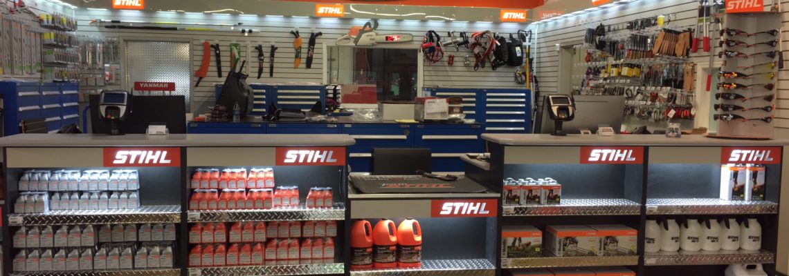 We are now a Stihl dealer!